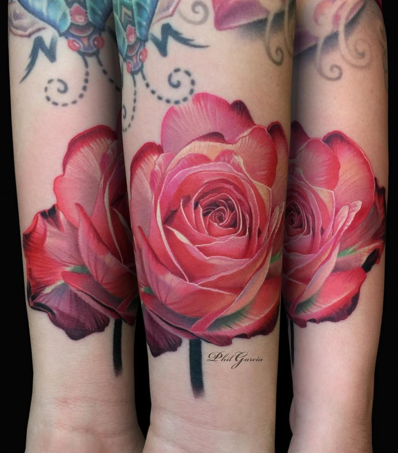 pink-and-red-rose-tattoo-by-phil-garcia