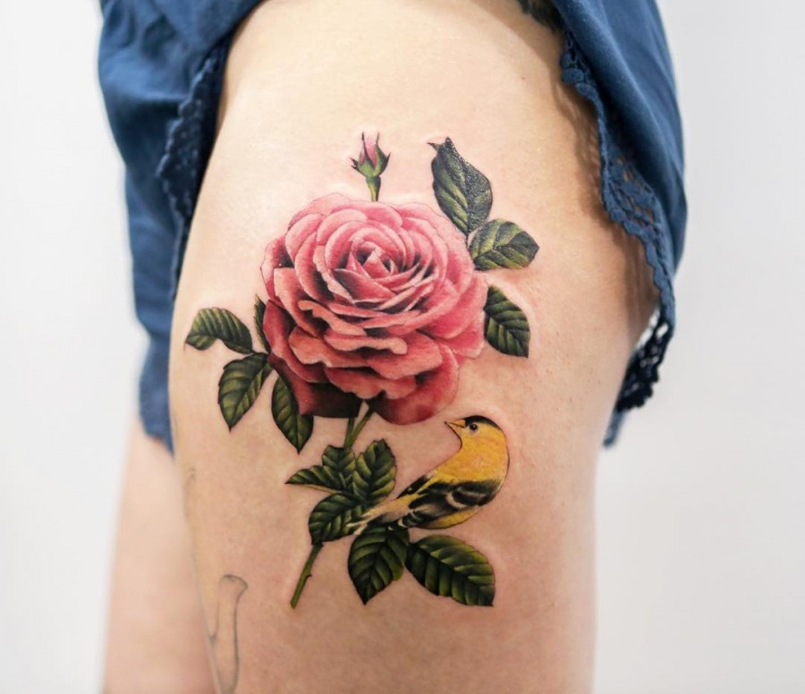 pink-rose-tattoo-by-joice-wang