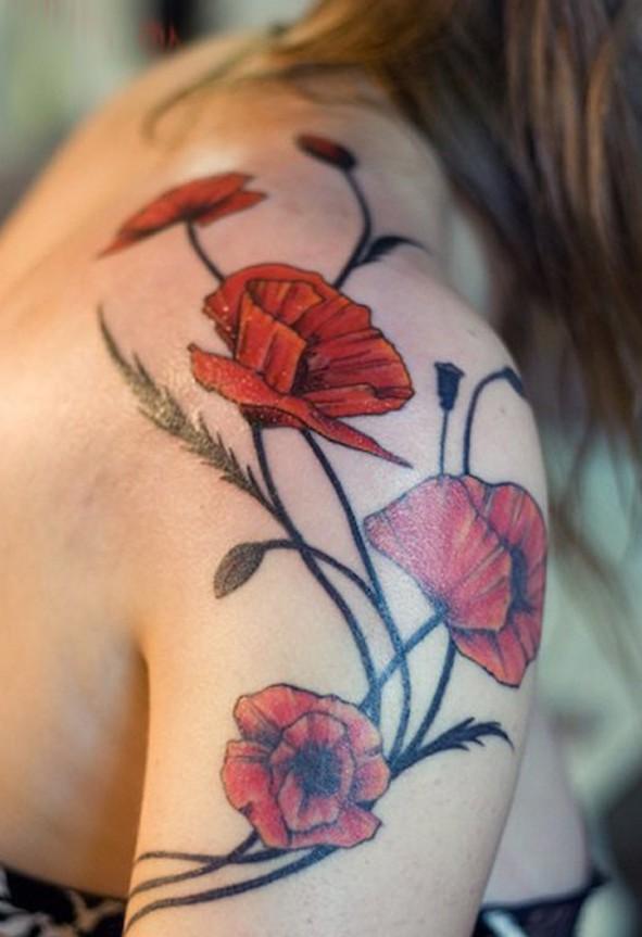 poppy-shoulder-tattoo