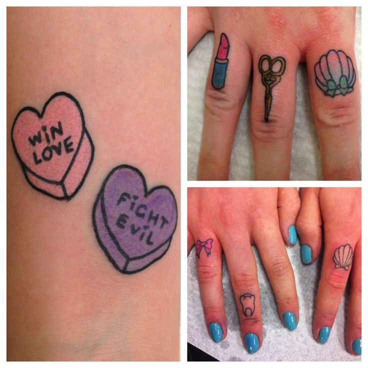 Pretty Fingers Tattoo By Lauren Winzer Tattoomagz