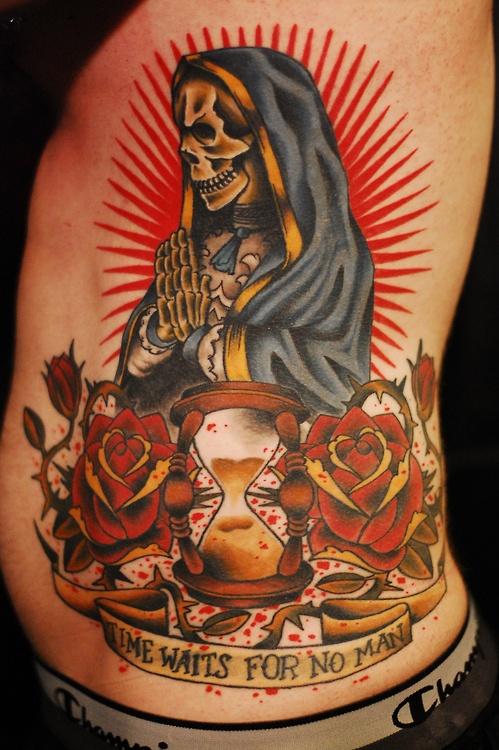 Santa muerte by Benny Mac