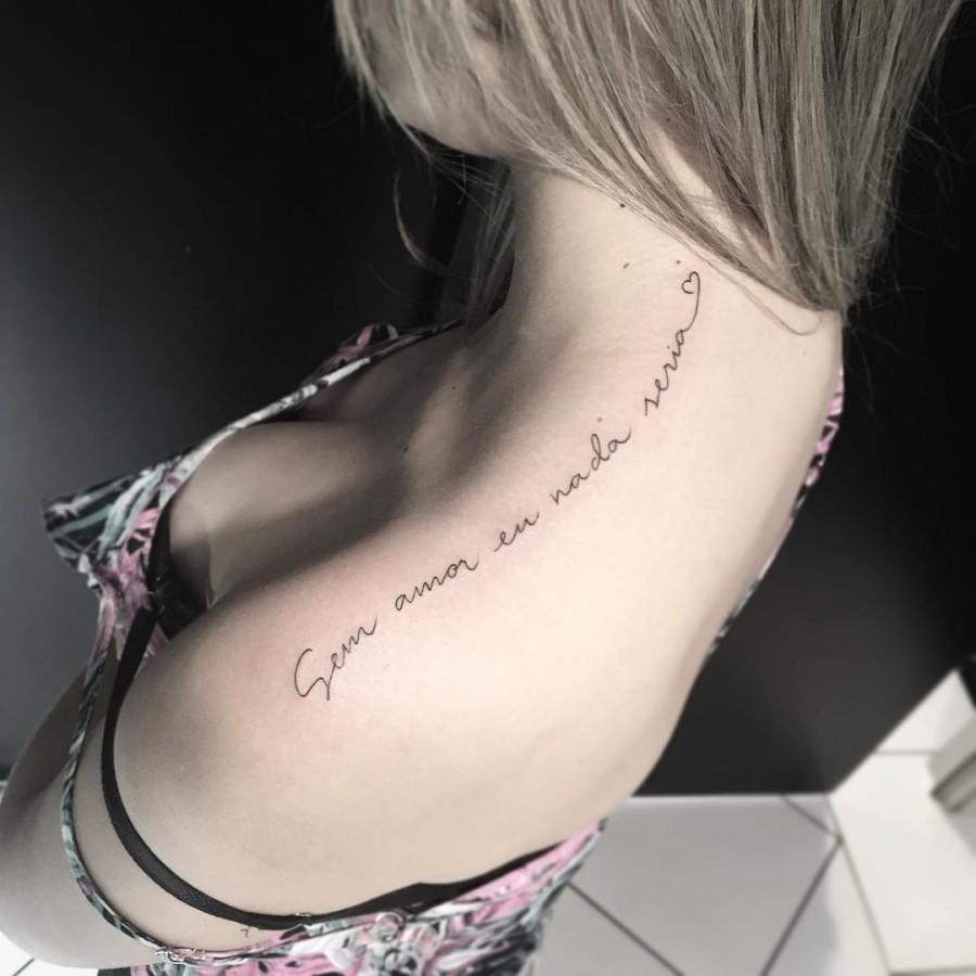 script tattoo by miltonreistatuador