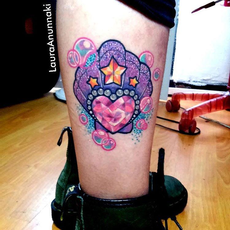 shell tattoo by anunnaki
