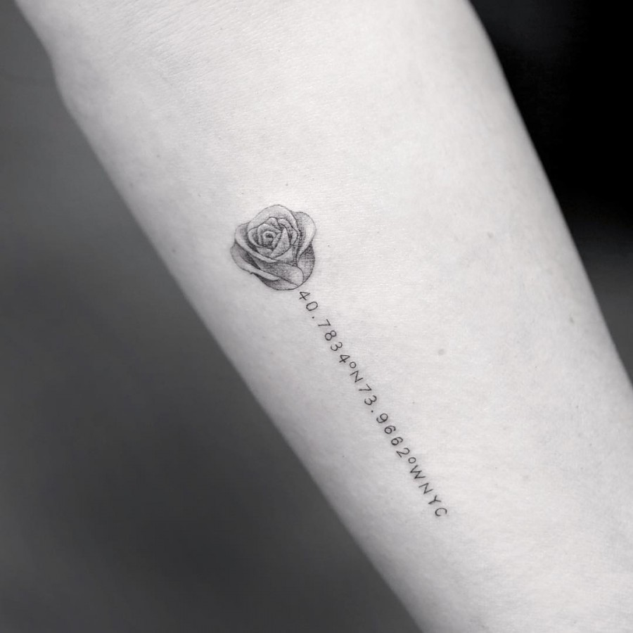 Tattoo Simple Rose: 50+ Magnificent Rose Tattoos