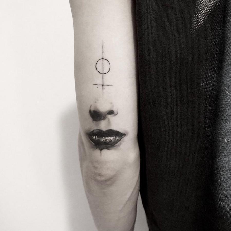 surreal tattoo