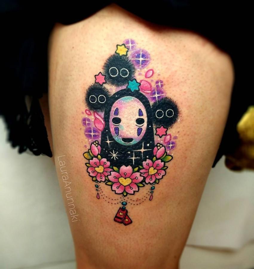 susuwatari-spirited-away-kawaii-tattoo