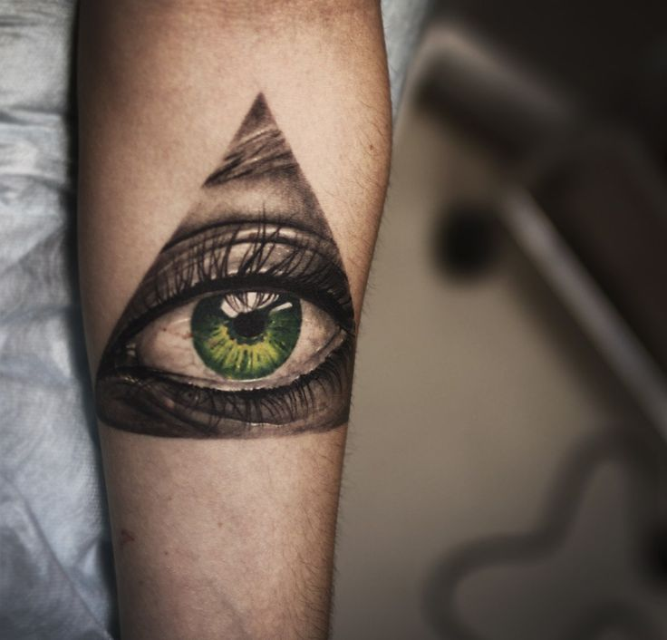 amazing green eye tattoo tattoomagz. Black Bedroom Furniture Sets. Home Design Ideas