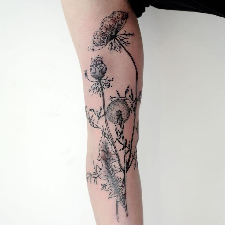 Cool Looking Black Plants Victor J Webster Tattoo