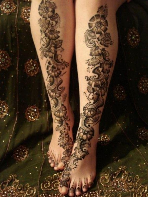 cool looking snake tattoo on leg. Black Bedroom Furniture Sets. Home Design Ideas