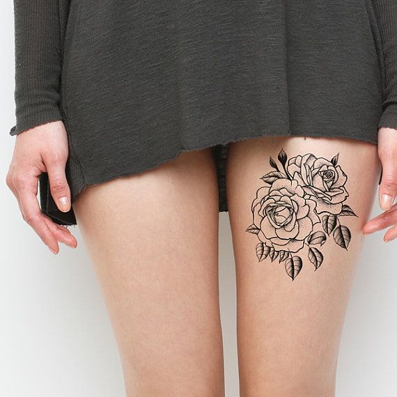 leg small temporary tattoo tattoomagz