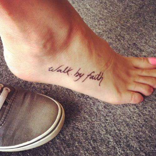 Walk-by-faith-foot-tattoo jpgWalk By Faith Foot Tattoos