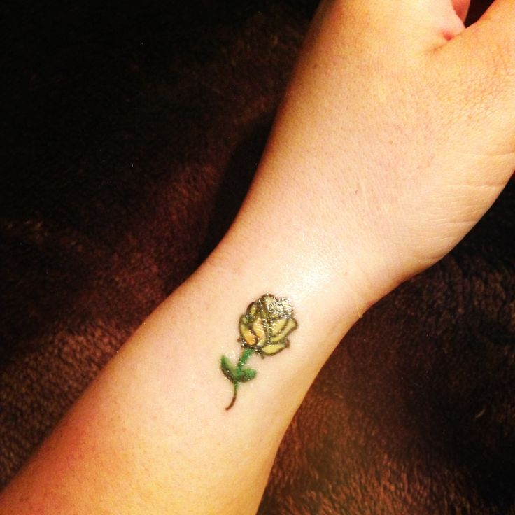 Yellow Rose Tattoos Tumblr