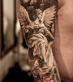 angel work of art tattoo