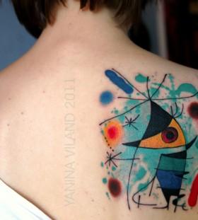 work of art tattoo Chanteur