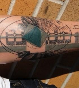 work of art tattoo graphic