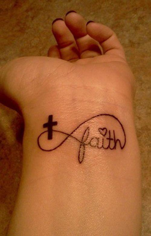 Faith Cross And Infinity Tattoo Tattoomagz
