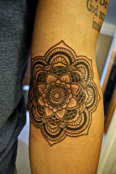 Gorgeous Flower Indie Tattoo