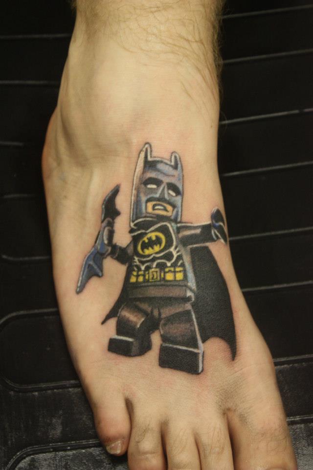 Lego batman tattoo tattoomagz for Female batman tattoos