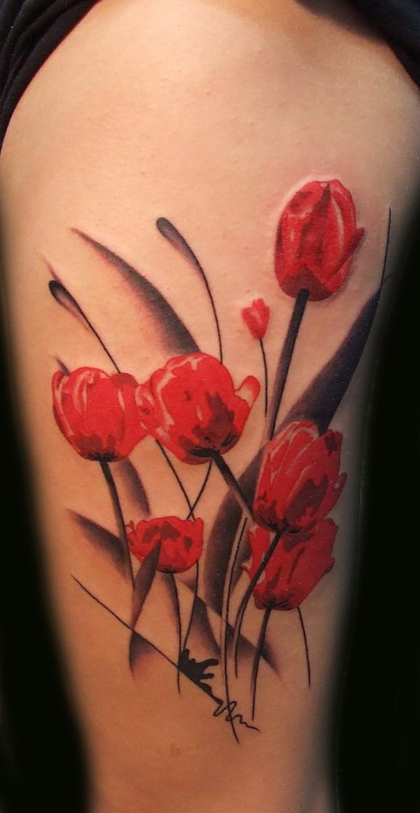 Nice poppy flower tattoo tattoomagz mightylinksfo