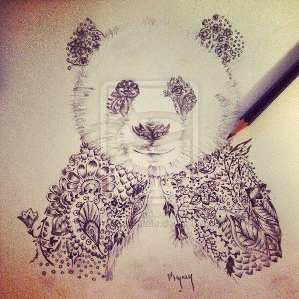 Panda Bear Tattoo Design Tattoomagz