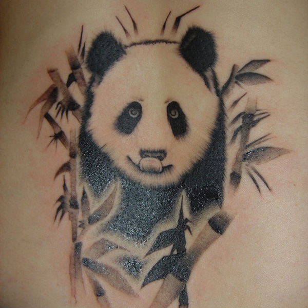 Sweet Panda Bear Tattoo Tattoomagz