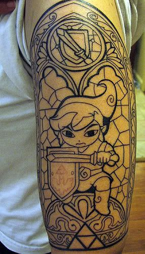 Video Game Character Tattoos Tattoomagz