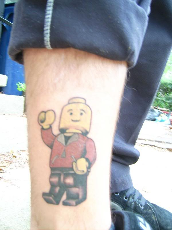 lego guy tattoo pictures to pin on pinterest tattooskid. Black Bedroom Furniture Sets. Home Design Ideas