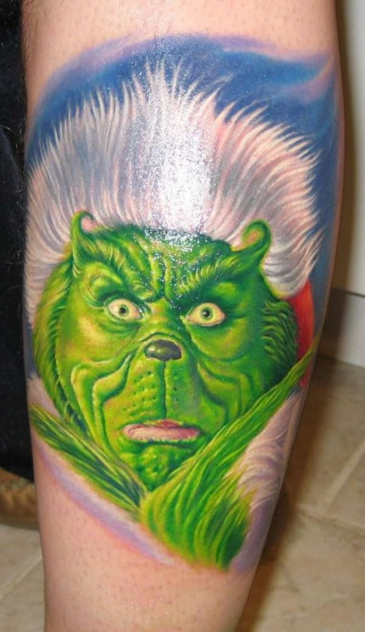 Grinch Tattoos