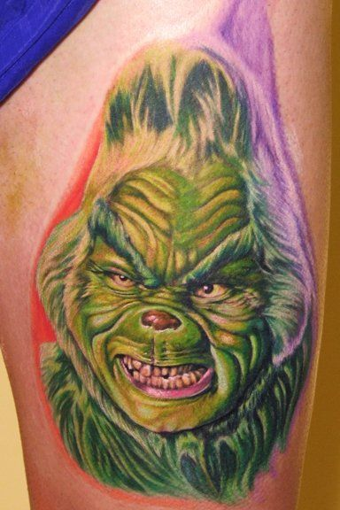 ugly-bugly-grinch-tattoo