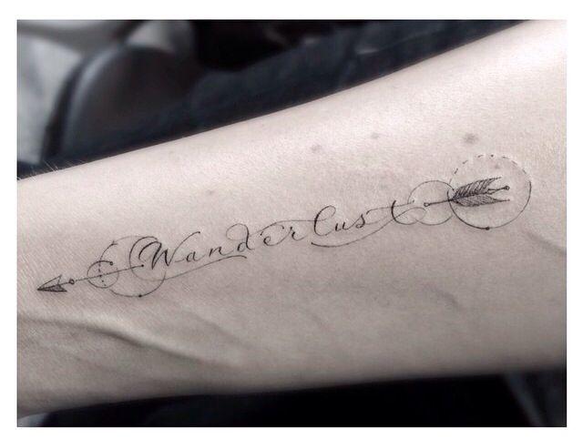 Wanderlust arm tattoo by dr woo tattoomagz wanderlust arm tattoo by dr woo voltagebd Image collections