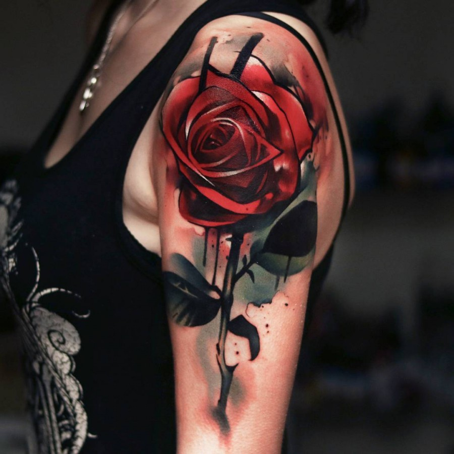 watercolor-red-rose-tattoo-by-uncl-paul-knows