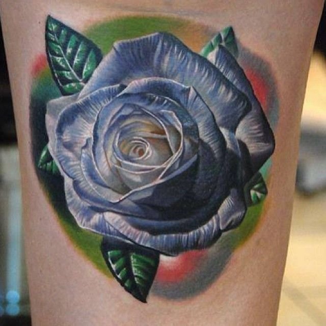 White rose tattoo by phil garcia tattoomagz for White rose tattoo