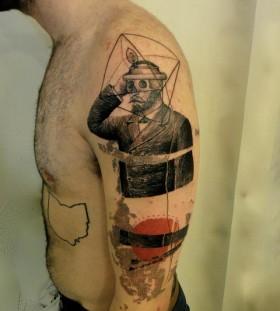 Xoil arm tattoo design