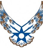 US Air Force Tattoo Emblem