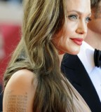 Angelina Jolies Secret Way To Cover Tattoos