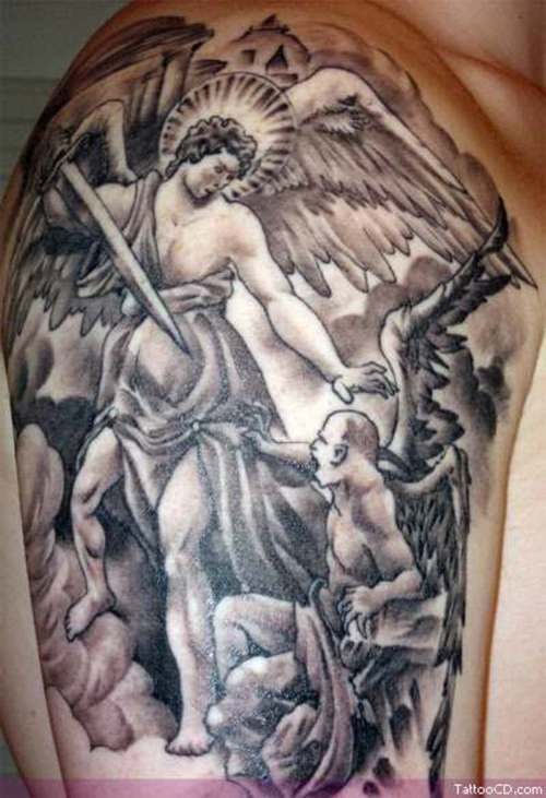 Angels And Demons Tattoos - TattooMagz Handpicked World's ...