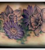 Wonderful Aster Flower Tattoo Designs Slodive