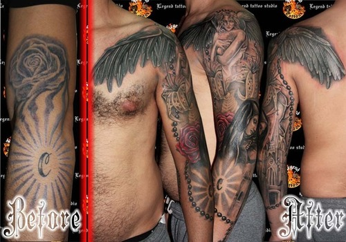 Cover up tattoo tattoo picture at checkoutmyink tattoomagz for Best tattoo cover up