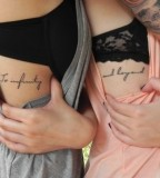 Infinity and Beyond tattoo for Girl