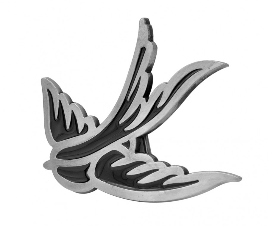 black enamel swallow sparrow belt buckle tattoo design tattoomagz. Black Bedroom Furniture Sets. Home Design Ideas
