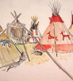 House of Blackfoot Indian Tattoos Picture for Women and Men