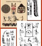 American Blackfoot Indian Tattoo Design for Men