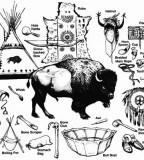 Aboriginal People Plains Blackfoot Indian Tattoos Design