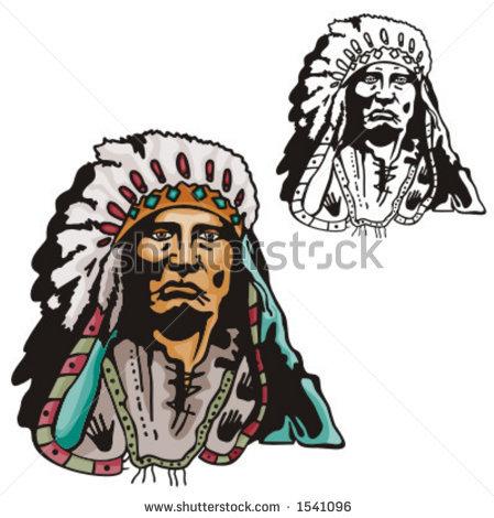 Indian Chief Tattoo