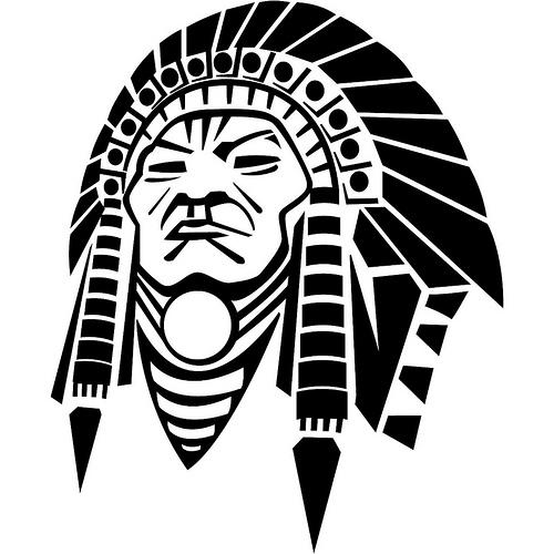 Blackfoot Indian Head Chief Vector Tattoo Tattoomagz
