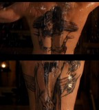 Boondock Tattoo Style On The Back