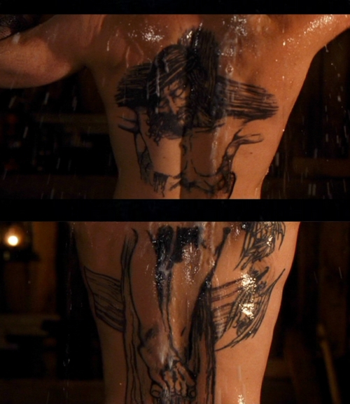 Boondock tattoo style on the back tattoomagz for Boondock saints tattoo