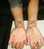 Tacky or cute matching tattoos tattoomagz for Bf gf matching tattoos