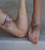 Love Match Tattoo Design