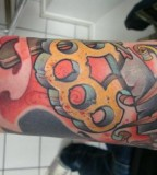 Brass Knuckles Traditional Tattoos And Tattoo Designs